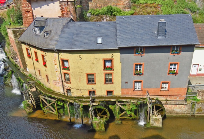 Hackenberger Mühle in Saarburg