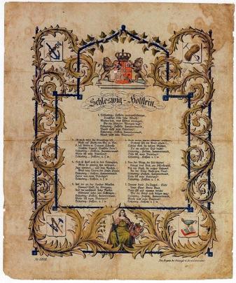 Schleswig Holstein Lied Text
